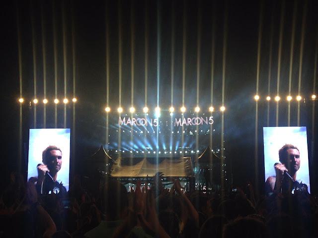 Maroon 5 em salvador