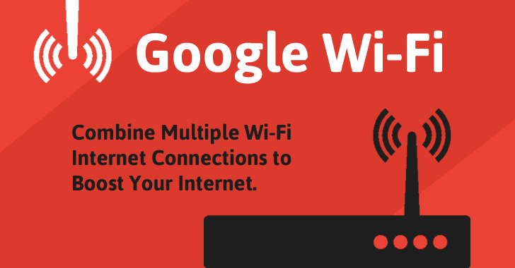 Google WiFi Router — Combine Multiple Routers to Boost WiFi Signal