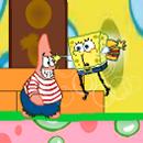 Bob esponja y Patricio en Bubble World juego