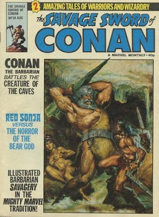 Savage Sword of Conan #34