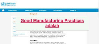 "<img src=""https://1.bp.blogspot.com/-83oJp4um_ek/XgWsEoh-JcI/AAAAAAAAB6w/h2f6UANb6xk9DUl3tT6hHAjUZDafVhpAwCLcBGAsYHQ/s320/Good_Manufacturing_Practices_adalah.jpg"" alt=""Pengertian Good Manufacturing Practices adalah""/>"