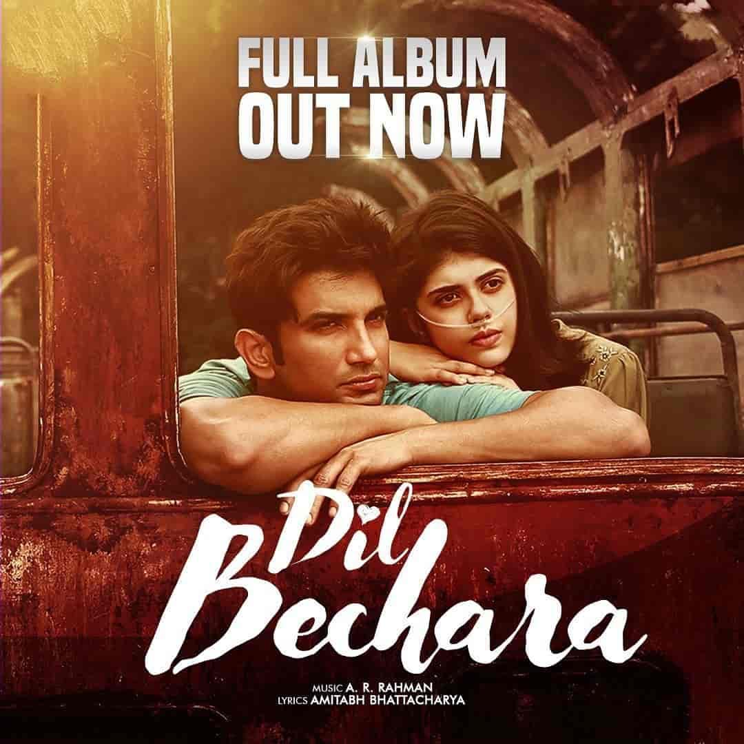 Main Tumhara Hindi Song Image Of Movie Dil Bechara Sung By Jonita Gandhi