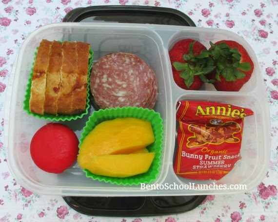 DIY lunchables, bento school lunches