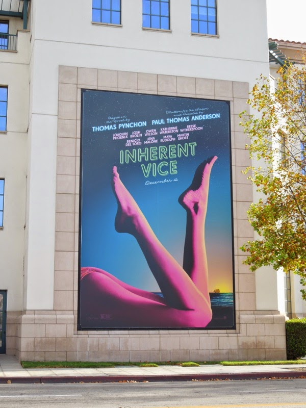 Inherent Vice legs billboard