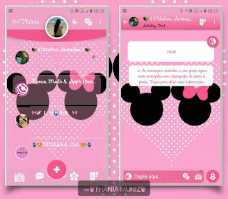 Mickey & Minnie Theme For YOWhatsApp & Fouad WhatsApp By Thania