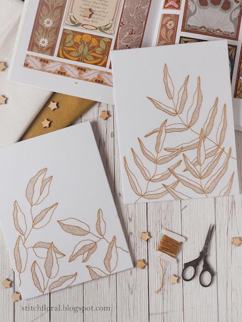 elegant embroidery patterns