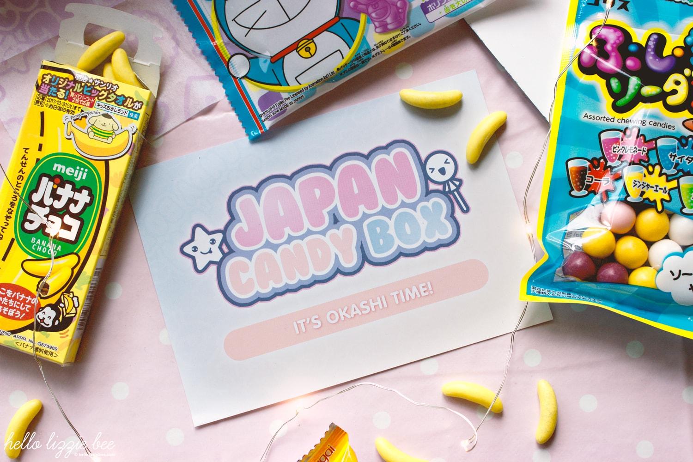 Japanese sweet, Japan Candy Box, yummy candy