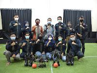 Universitas Teknokrat Indonesia Terbaik di Lampung Juara Umum Kontes Robot Sepak Bola Indonesia Humanoid