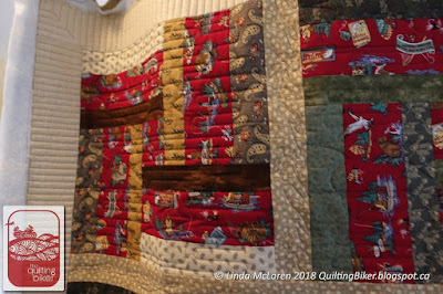 Comfort Quilt Fly Fishing front close up view