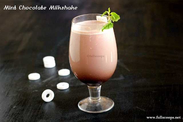Mint Chocolate Milkshake