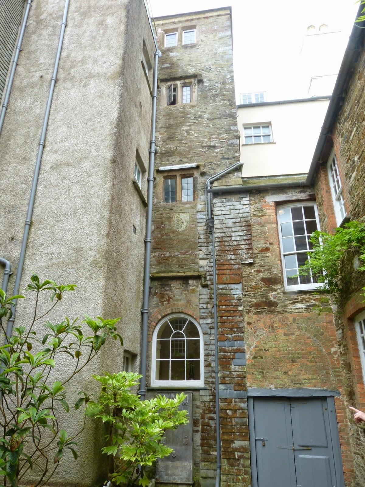 Tudor courtyard, Saltram