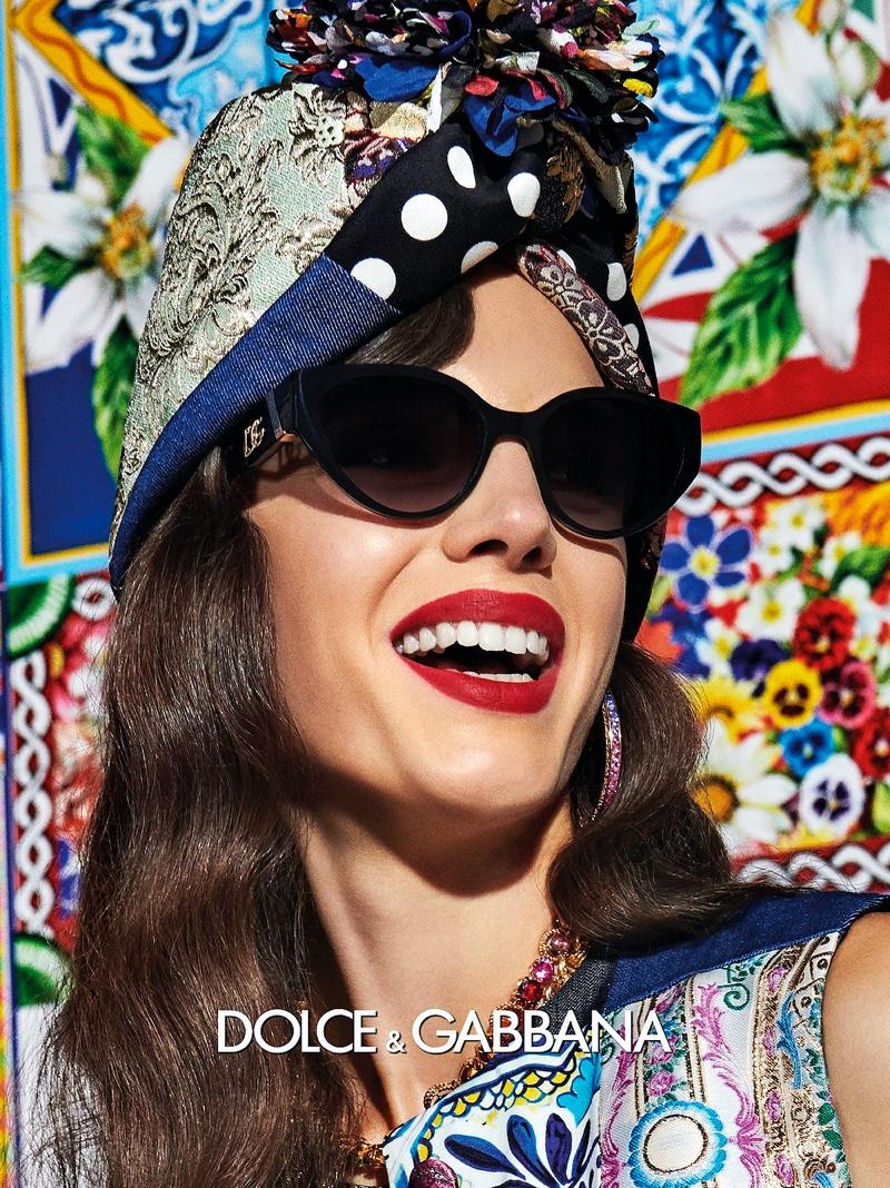 Dolce & Gabbana Eyewear unveils spring-summer 2021 campaign.