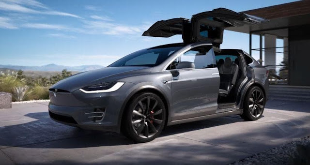 Tesla Model X - SUV With Perfect Safety Rating Score