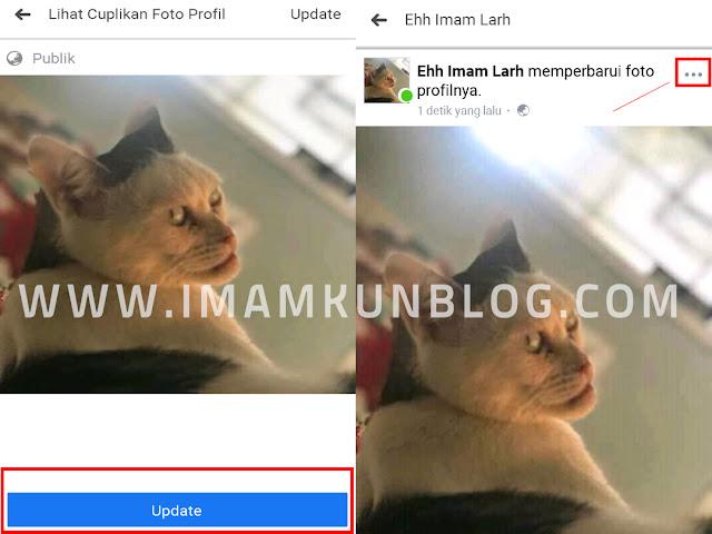 Cara Ganti Foto Profil Facebook Tanpa Diketahui Orang