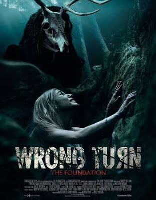 Wrong Turn (2021) English 720p BluRay ESub x265 HEVC 590Mb