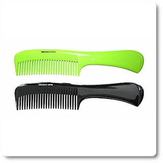 Denman Lime Green Precision Rake Shower Comb DPC6GRN