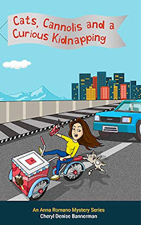 Cats, Cannolis and a Curious Kidnapping - Cozy Mystery book promotion sites by Cheryl Denise Bannerman