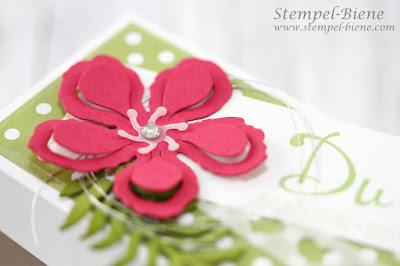 Stampinup Teamgeschenke; Willkommensgeschenk Demonstrator; Stampin Up Herzbordüre; Stampinup Flohmarkt; Stampinup Katalog 2016-2014; Stempel-Biene; Geschenkverpackung; Hochzeitsgastgeschenke