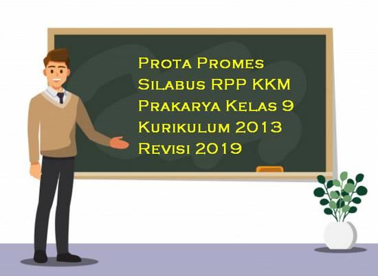 Prota, Promes, Silabus, RPP, KKM Prakarya Kelas 9 Kurikulum 2013