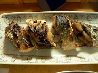 酒の肴 焼き魚 ニシン塩焼き