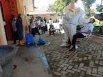 Puluhan Pegawai Dinas PTSP Lampung Barat Diswab