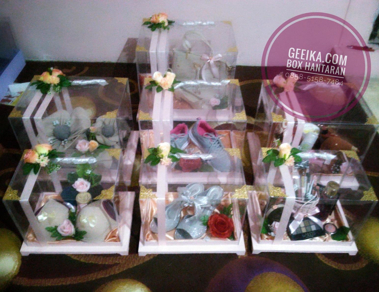 Box Kotak Hantaran Seserahan Lamaran Pernikahan Minimalis