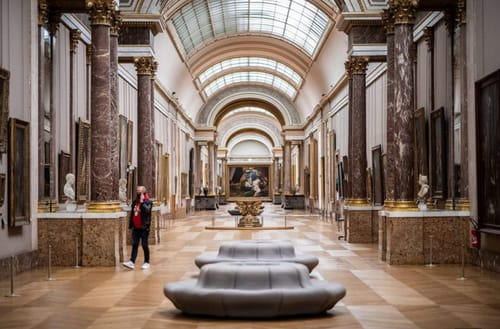 The Louvre Museum offers its complete collection online
