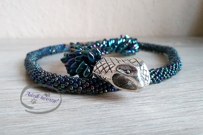 biżuteria z koralików handmade