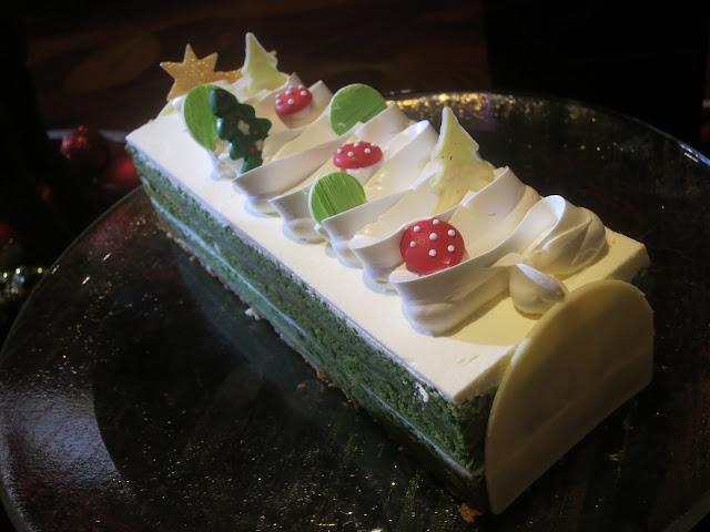 Matcha & Pistachio Yule Log