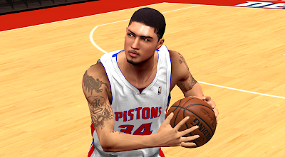 NBA 2K14 Peyton Siva Cyberface Patch