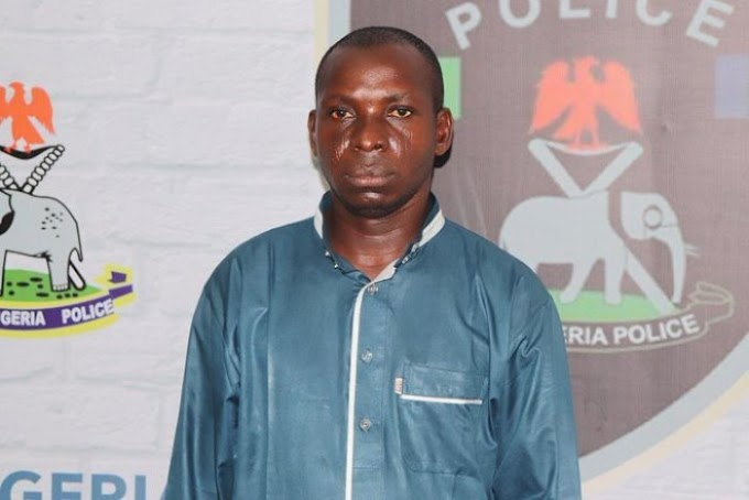 Police re-arrest Taraba kidnap kingpin, Hamisu Wadume(Video)