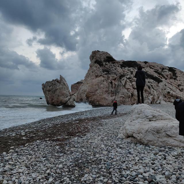 Aphrodites Rock, Paphos, Cyprus
