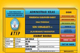 Aplikasi Administrasi Guru Kelas Berbasis KTSP Lengkap
