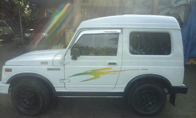 harga mobil Suzuki Katana Blitz tahun 1992, Mesin masih Oke