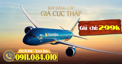 khuyến mãi bay đẳng cấp giá cực thấp giá chỉ 299.000 đồng