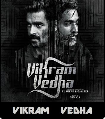 Vikram Vedha (2017) Dual Audio [Hindi – Tamil] 720p UNCUT HDRip ESub x265 HEVC 780Mb