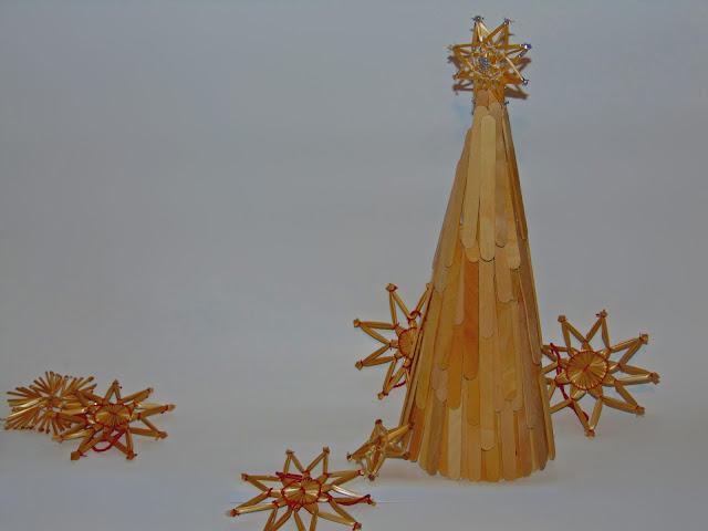 prosta dekoracja świąteczna zrób to sam