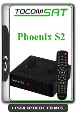 Tocomsat Phoenix S2 Primeira Atualização do Novo Receptor IKS e SKS V1.03 - 04-03-2020