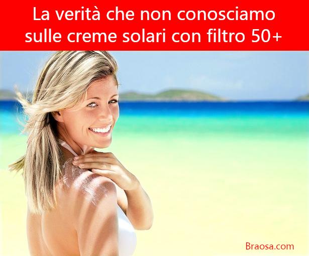 Quanto protegge veramente una crema solare con filtro 50+