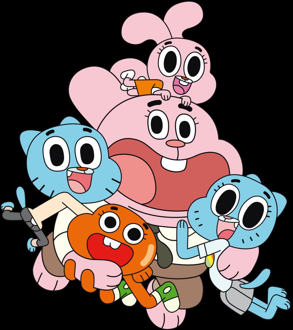 Render Familia de Gumball