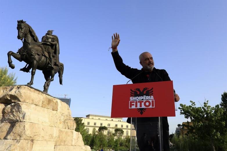 Αυτοδυναμία Έντι Ράμα στις βουλευτικές εκλογές της Αλβανίας