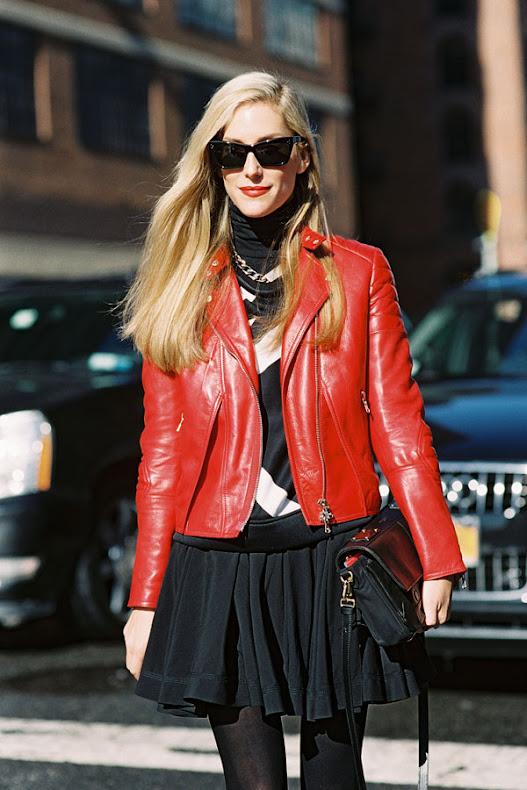 street style zima, modnie zimą, skórzane kurtki, moda dodatki, w jej stylu, kobiety, joanna hilmann