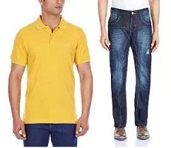 Flat 75% Discount on Club J Men's Clothing at Amazon