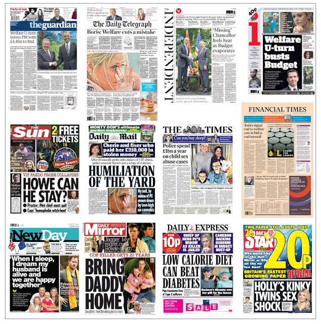 front pages 22-03-16