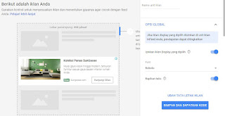 Cara Membuat Unit Iklan In-feed Ads