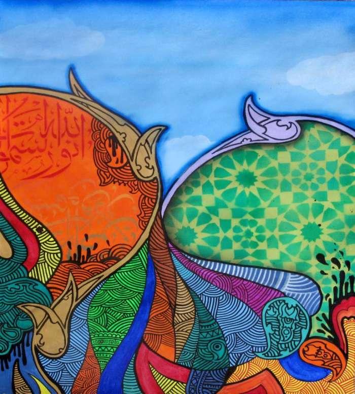 Иранский художник. Keyvan Heydari