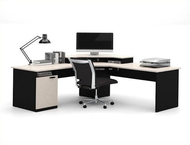 best buy cheap l shaped office desks with chair for sale