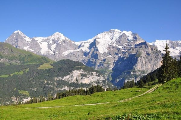 Eiger, Mönch, dan Jungfrau
