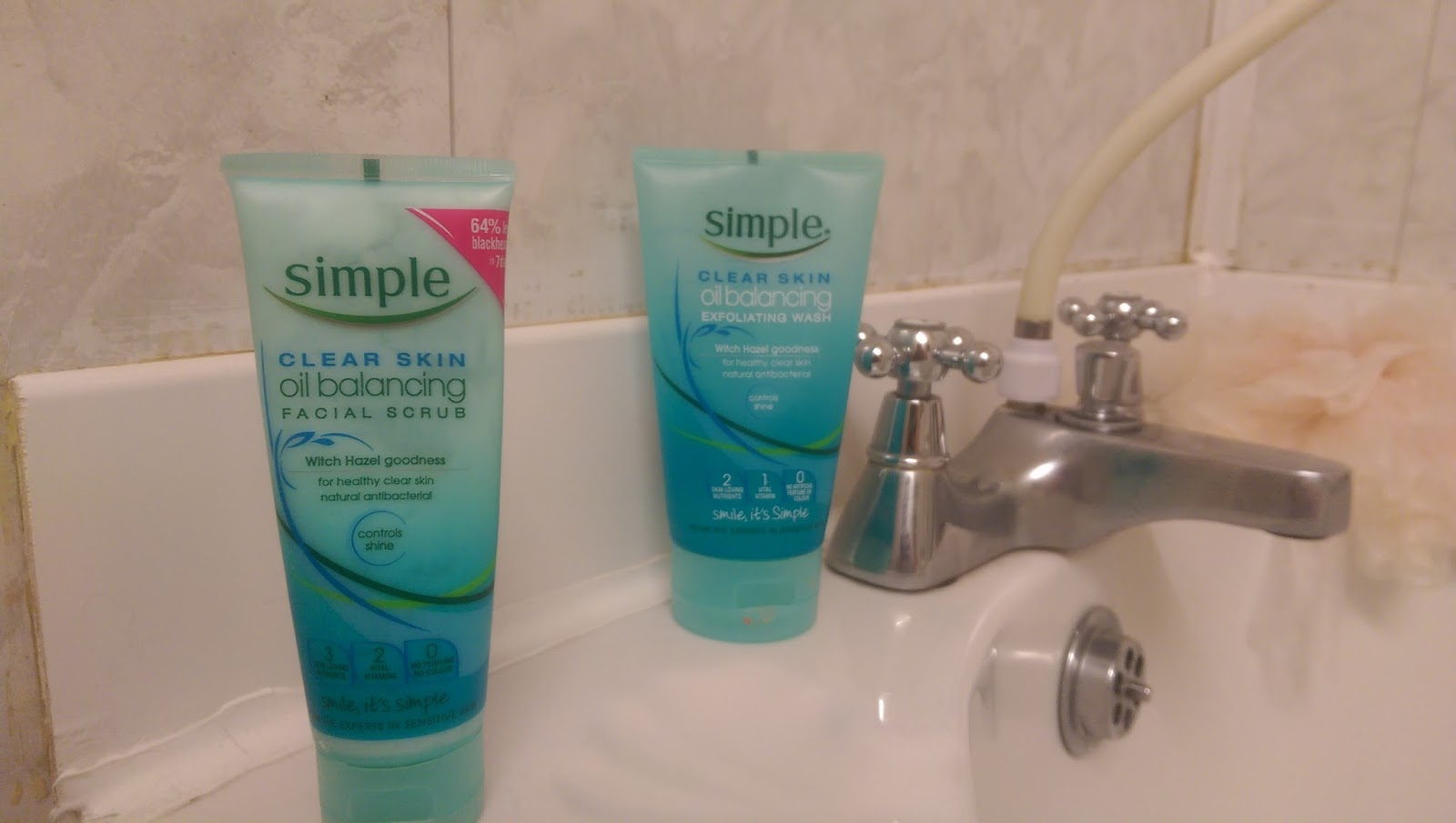 Clear Skin Oil Balancing Exfoliating Wash by Simple #11