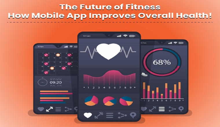 The Future of Fitness: How Mobile Apps Improve Overall Health! #infographic